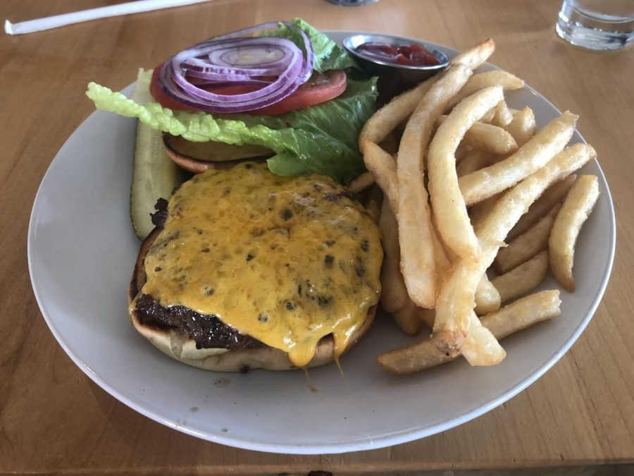 Canyon Lake's Brewery's par burgers are a great hit, but faced some tough competition from other great spots in San Ramon.