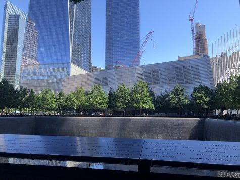 The 9/11 Memorial in lower Manhattan replaced the Twin Towers, which were destroyed in the terrorist attacks of Sept. 11, 2001.
